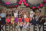 BALLOONS: The Hall of Kerins O'Rhillys GAA Club, Tralee was well decorated on Saturday night as wereRachel Daly seated 4th from left celebrated her 21st6 Birthdayu party with many of her family and friends, Rachel is from Caherane,Tralee....