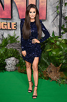 Amber Davies at the &quot;Jumanji: Welcome to the Jungle&quot; premiere at the Vue West End, Leicester Square, London, UK. <br /> 07 December  2017<br /> Picture: Steve Vas/Featureflash/SilverHub 0208 004 5359 sales@silverhubmedia.com