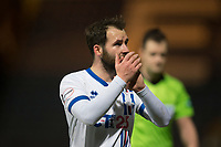 4th January 2020; Dens Park, Dundee, Scotland; Scottish Championship Football, Dundee FC versus Inverness Caledonian Thistle; James Keatings of Inverness Caledonian Thistle applauds the fans at the end of the match - Editorial Use