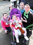 Breanna, Dannan, Ciaran and Janine at Erin's Run, An Grianan, Termonfeckin.<br /> <br /> Photo: Jenny Matthews
