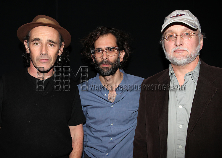 Mark Rylance, Daniel Fish & Michael Rudko attending the Opening Night of the Transport Group Production of 'House For Sale' at the Duke on 42nd Street  on 10/24/2012 in New York.