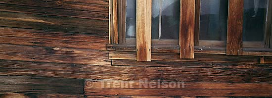 Wooden wall and window<br />