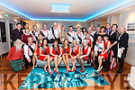 Dromid GAA committee and the Strictly Come Dancing participants at the Sea Lodge in Waterville on Saturday night.