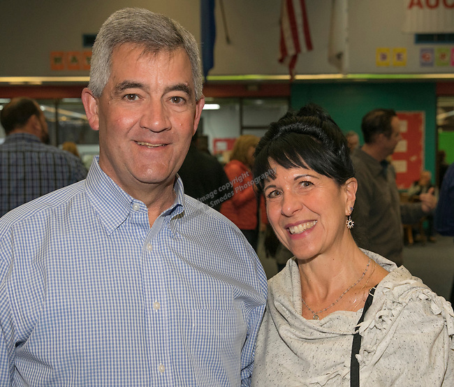 Paul and Rosanne Anderson during the Jack T. Reviglio Cioppino Feed & Auction at the Donald W. Reynolds Facility in Reno on Saturday, February 25, 2017.