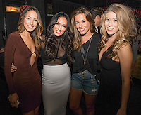 Lynette Cenee, Alyssa Baker, Shae Wilbur and Jillian Chatoff attend the Riot Media Group Presents Hide & Seek at Blind Dragon in West Hollywood on Sept. 30, 2015.