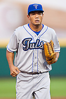 July 21, 2010 Bronson Sardinha (13) in action during the MiLB game between the Tulsa Drillers and the Springfield Cardinals at Hammons Field in Springfield Missouri.  Tulsa won 5-3