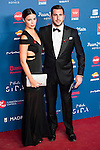 Enrique Riquelme and his wife attends to the photocall of the Gala Sida at Palacio de Cibeles in Madrid. November 21, 2016. (ALTERPHOTOS/Borja B.Hojas)