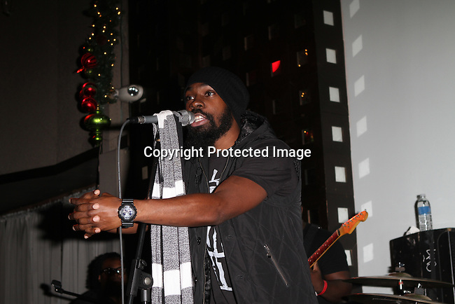 "Jamaal Pollard aka Mali Music Performs at BET's Music Matters ""Best of 2012"" Holiday Showcase At S.O.Bs, NY   12/11/12"