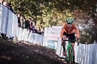 Maud Kaptheijns (NED)<br /> <br /> UEC CYCLO-CROSS EUROPEAN CHAMPIONSHIPS 2018<br /> 's-Hertogenbosch – The Netherlands<br /> Women's Elite Race