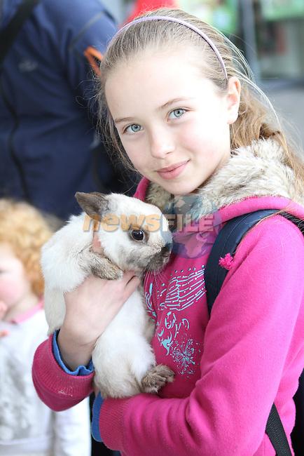 Emma Railta at the family Fun Day in the M1 Retail Park...(Photo Jenny Matthews/www.newsfile.ie)