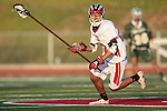 Redondo Beach, CA 05/11/10 - Cole Bender (PV # 28) in action during the 2010 Los Angeles Boys Lacrosse championship game, Mira Costa defeated Palos Verdes 12-10 at Redondo Union High School.