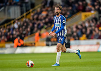 7th March 2020; Molineux Stadium, Wolverhampton, West Midlands, England; English Premier League, Wolverhampton Wanderers versus Brighton and Hove Albion; Davy Pröpper of Brighton & Hove Albion looks for a pass
