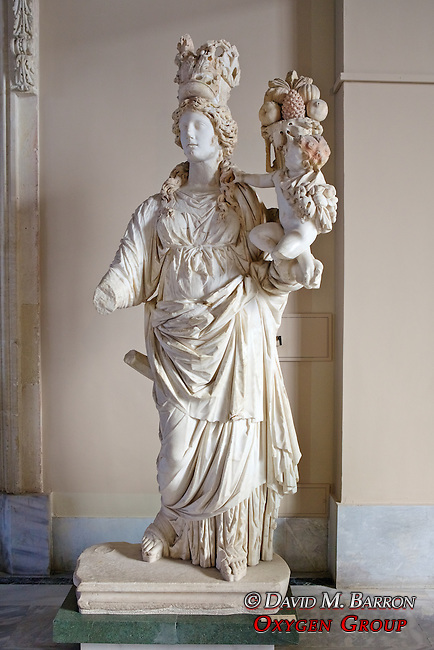 Statue of Tyche, goddess of fortune, Istanbul Archaeology Museum