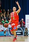 ****BETALBILD**** <br /> Uppsala 2015-04-24 Basket SM-Final 3 Uppsala Basket - S&ouml;dert&auml;lje Kings :  <br /> Uppsalas Rickard Eriksson gestikulerar under matchen mellan Uppsala Basket och S&ouml;dert&auml;lje Kings <br /> (Foto: Kenta J&ouml;nsson) Nyckelord:  Basket Basketligan SM SM-final Final Fyrishov Uppsala S&ouml;dert&auml;lje Kings SBBK portr&auml;tt portrait