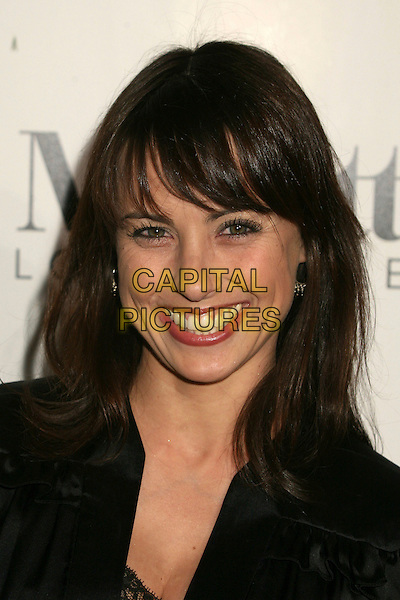 CONSTANCE ZIMMER.The 2006 Art of Elysium Annual Art,  Benefit at Minotti, Los Angeles, California, USA,.02 December 2006..portrait headshot.CAP/ADM/BP.©Byron Purvis/AdMedia/Capital Pictures.