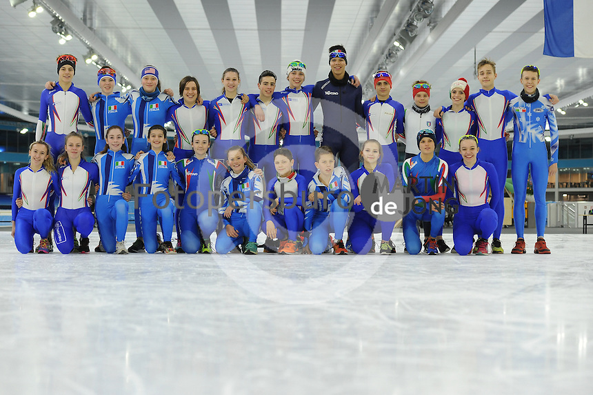 SPEED SKATING: HEERENVEEN: IJsstadion Thialf, 02-03-2017, Viking Race 2017, Team Italy, ©photo Martin de Jong