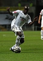 Pictured: Febian Brandy of Swansea City in action <br /> Re: Carling Cup Round Four, Swansea City Football Club v Watford at the Liberty Stadium, Swansea, south Wales, Tuesday 11 November 2008.<br /> Picture by Dimitrios Legakis Photography (Athena Picture Agency), Swansea, 07815441513