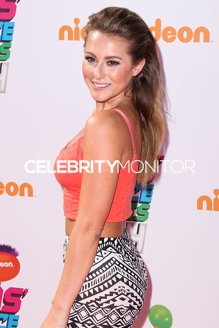 WESTWOOD, LOS ANGELES, CA, USA - JULY 17: Alexa PenaVega, Alexa Vega at the Nickelodeon Kids' Choice Sports Awards 2014 held at UCLA's Pauley Pavilion on July 17, 2014 in Westwood, Los Angeles, California, United States. (Photo by Xavier Collin/Celebrity Monitor)