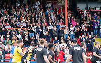 Picture by Allan McKenzie/SWpix.com - 22/04/2018 - Rugby League - Ladbrokes Challenge Cup - York City Knight v Catalans Dragons - Bootham Crescent, York, England - Fans, supporters, York.