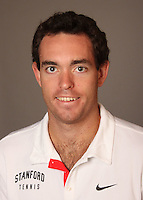 STANFORD, CA - NOVEMBER 16:  Richard Wire of the Stanford Cardinal during men's tennis picture day on November 16, 2009 in Stanford, California.