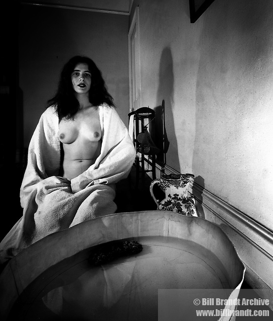 Nude, The Haunted Bathroom, Campden Hill London, 1948