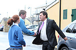 Bill Cullen visits Colaiste Na hInse