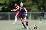 CARY, NC - JUNE 10: North Carolina Courage's Kristen Hamilton. The North Carolina Courage held a scrimmage against the CASL Red South U16 Boys team on June 10, 2017, at WakeMed Soccer Park Field 7 in Cary, NC.