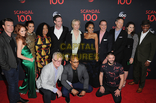 08 April 2017 - West Hollywood, California - Cast and Producers of &quot;Scandal&quot;. ABC's 'Scandal' 100th Episode Celebration held at Fig &amp; Olive in West Hollywood.   <br /> CAP/ADM/BT<br /> &copy;BT/ADM/Capital Pictures