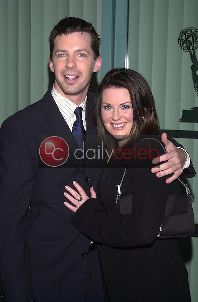 Sean Hayes and Megan Mullally