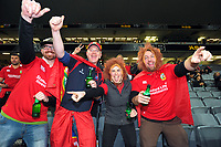 Lions fans prepare for the 2017 DHL Lions Series rugby union 3rd test match between the NZ All Blacks and British & Irish Lions at Eden Park in Auckland, New Zealand on Saturday, 8 July 2017. Photo: Dave Lintott / lintottphoto.co.nz