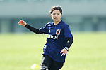 Yui Hasegawa (JPN), <br /> JANUARY 16, 2018 -  Football / Soccer : <br /> Japan women's national team training camp <br /> in Tokyo, Japan. <br /> (Photo by Yohei Osada/AFLO)
