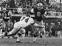 Joe Zuger HamiltonTiger Cats quarterback 1963. Copyright photograph Ted Grant