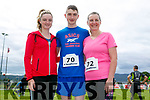 Enjoying the St Brendan's Park FC  5K run and family fun day at Christy Leahy Park on Sunday were Eimear Lynch, Dara Lynch and Ellen Lynch