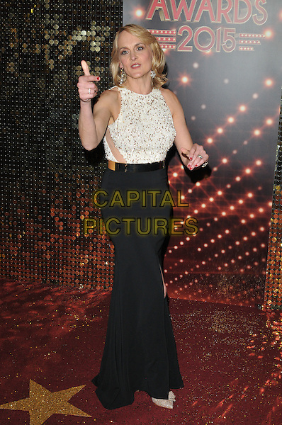 MANCHESTER, ENGLAND - MAY 16: Louise Minchin attends the British Soap Awards 2015, The Palace Hotel, Oxford Street, on Saturday May 16, 2015 in Manchester, England, UK. <br /> CAP/CAN<br /> &copy;CAN/Capital Pictures
