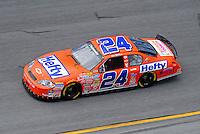 Jul. 3, 2008; Daytona Beach, FL, USA; Nascar Nationwide Series driver Eric McClure during practice for the Winn-Dixie 250 at Daytona International Speedway. Mandatory Credit: Mark J. Rebilas-