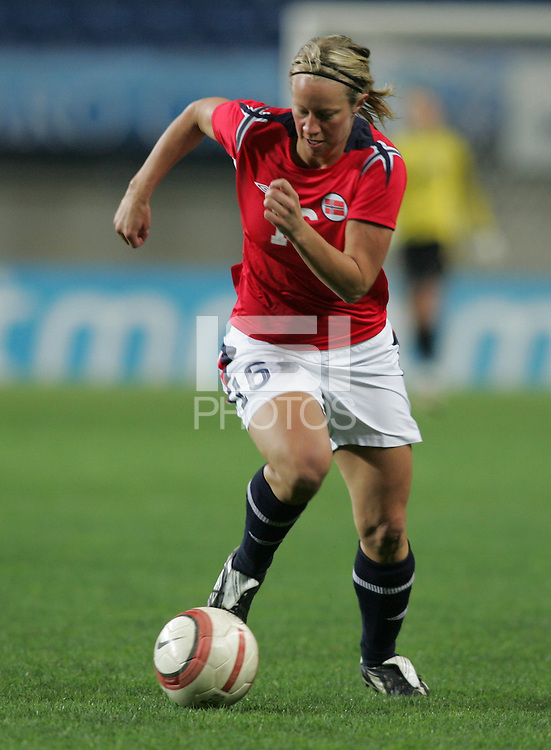 MAR 13, 2006: Faro, Portugal:  Kristin Blystad Bjerke
