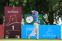 Daan Huizing (NED) during the first round of the Ras Al Khaimah Challenge Tour Grand Final played at Al Hamra Golf Club, Ras Al Khaimah, UAE. 31/10/2018<br />