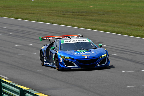 IMSA WeatherTech SportsCar Championship<br /> Michelin GT Challenge at VIR<br /> Virginia International Raceway, Alton, VA USA<br /> Friday 25 August 2017<br /> 93, Acura, Acura NSX, GTD, Andy Lally, Katherine Legge<br /> World Copyright: Richard Dole<br /> LAT Images<br /> ref: Digital Image RD_VIR_17_351