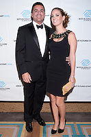 Andres Guilarte and Pamela Navarro Wright attend The Boys and Girls Club of Miami Wild About Kids 2012 Gala at The Four Seasons, Miami, FL on October 20, 2012