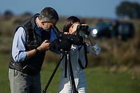 ALMONTE, SPAIN - FEBRUARY 14: ***NO SPAIN*** King Felipe VI and Queen Letizia of Spain visit Doñana National Park during the 50th anniversary commemoration of the Doñana National Park on February 14, 2020 in Almonte, Spain. Credit: Jimmy Olsen/MediaPunch