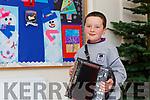 Gaelscoil Faithleann pupil Rian Ó Gliasain who played acordian on the Late Late Toy Show on Saturday night