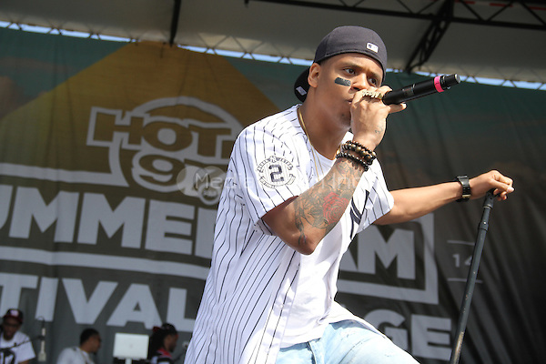 East Rutherford, NJ - June 1, 2014<br /> <br /> Mack Wilds performs at the Hot 97 Summer Jam 2014 concert at Metlife Stadium, June 1, 2014 in East Rutherford, NJ<br /> <br /> <br />  Walik Goshorn/MediaPunch