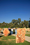Israel, Upper Galilee, the Helicopters Disaster monument in Kibbutz Dafna