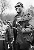 Ishmahil Blagrove.  Speakers' Corner, Hyde Park, London.
