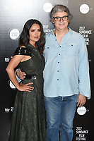 Salma Hayek and Miguel Arteta<br /> at the Sundance Film Festival:London opening photocall, Picturehouse Central, London.<br /> <br /> <br /> &copy;Ash Knotek  D3270  01/06/2017