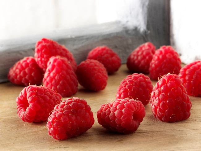 British fruit  - raspberry