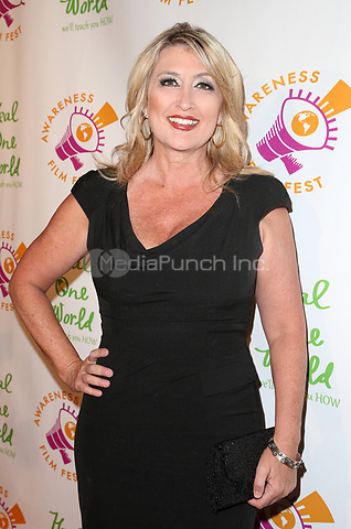 LSO ANGELES, CA - October 05: Wendy Burch, At 2017 Awareness Film Festival - Opening Night Premiere Of 'The Road To Yulin And Beyond' At Regal LA Live Stadium 14 In California on September 05, 2017. Credit: FayeS/MediaPunch