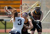 Northport vs Sayville girls lacrosse - 041815