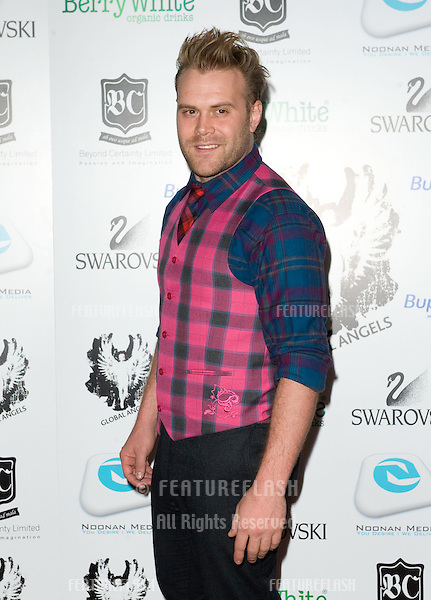 Daniel Bedingfield arriving for the Global Angels Awards at the Park Plaza Hotel in Westminster London. 02/12/2011 Picture by: Simon Burchell / Featureflash