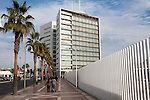 V Centenario building Melilla autonomous city state Spanish territory in north Africa, Spain